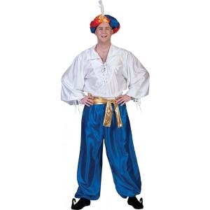 1001 Nachten Shirt Verkleedkleding Midden Oosten Kostuum Man