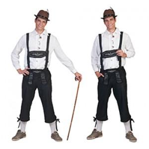 Tiroler Klaus lederhose - Oktoberfest - Kostuum Man