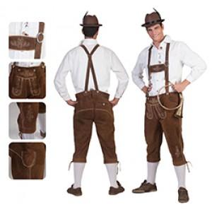 Tiroler Bernd - Lederhose Oktoberfest- kostuum man