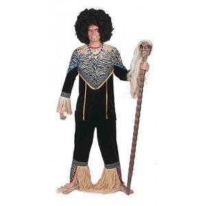 Medicijnman - Afrikaanse verkleedkleding - Kostuum Man
