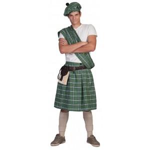 Schot Groen - Verkleedkleding Schotland - Kostuum Man