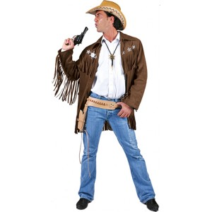 Silver star - Cowboy verkleedkleding - Kostuum man