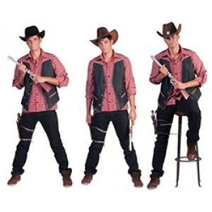 Ranger - Cowboy verkleedkleding - Kostuum man