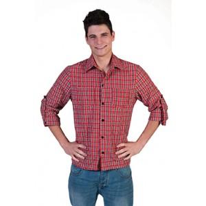 Houthakkers shirt -Verkleedkleding Kostuum Man