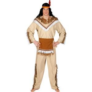 Indiaan Sioux  - Indianen verkleedkleding - Kostuum man