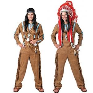 Indiaan Anoki - Indianen verkleedkleding - Kostuum man