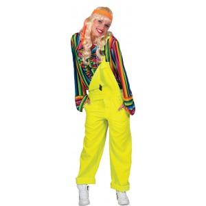Neon Geel Overall - Show Verkleedkleding - Kostuum Unisex