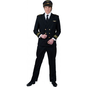 Captain Mark - Piloot - piloten kostuum man