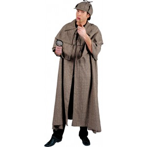 Detective Sherlock - Verkleedkleding Politie - Kostuum Man
