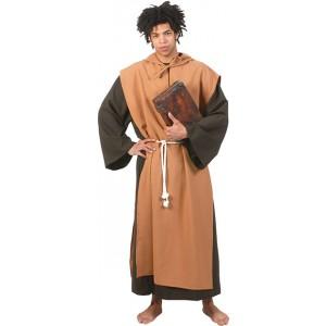 Middeleeuwse Monnik - (schijn)heilig - Priester kostuum