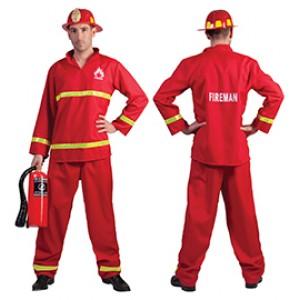 Brandweerman blusser Sam - brandweerman kostuum man