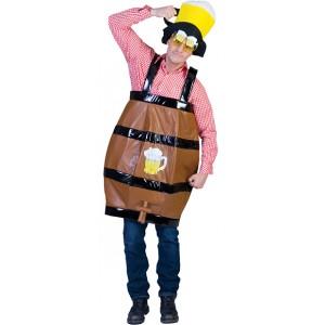 Biervat Kostuum - Bachelor Verkleedkleding- Kostuum Heren