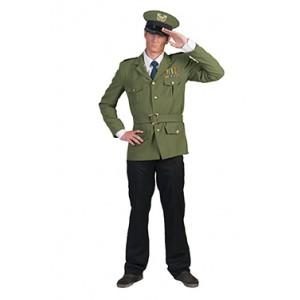 Commandant - militair kostuum man