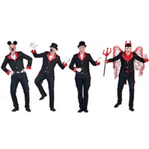 Duivel Jacquet - Verkleedkleding Halloween - Kostuum Man
