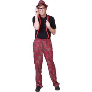 Nerd School Kostuum - Student Verkleedkleding - kostuum Man