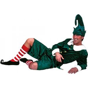 Kerst elf - Kerst Verkleedkleding - Kostuum Man