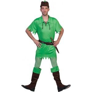 Peter Pan - Sprookjes verkleedkleding- Kostuum man