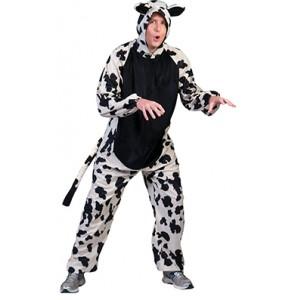 Boerderij Koe - Carnaval Verkleedkleding - Kostuum Man