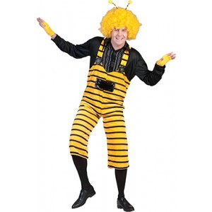 Bij Overall - Carnaval Verkleedkleding - Kostuum Man
