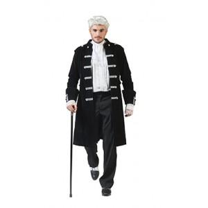 Zwart Adel Jasje - Gouden Eeuw Verkleedkleding - Kostuum Man
