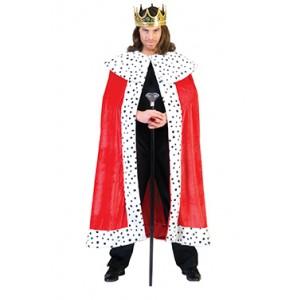 Koning Arthur Cape - Verkleedkleding middeleeuwen