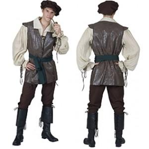 Herbergier - Middeleeuwen Verkleedkleding - Kostuum Man