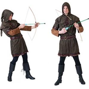 Boer / Horige - Middeleeuwen Verkleedkleding - Kostuum Man