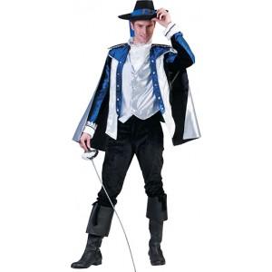 Luxe Musketier Renaissance Verkleedkleding - Kostuum Man