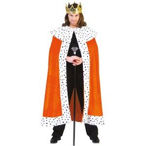 Koning Willem Cape - Oranje verkleedkleding - Koningsdag