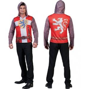 Ridder 3D Shirt - Middeleeuwen Verkleedkleding - Kostuum Man
