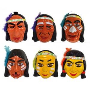 Indianen Masker - Carnaval Verkleedkleding