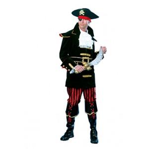Luxe Piraat Kapitein - Piraten Verkleedkleding - Kostuum Man