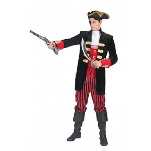 Kapitein Jack - Piraten verkleedkleding - Kostuum man