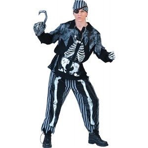 Spookvloot Piraat - Piraten Verkleedkleding - Kostuum Man
