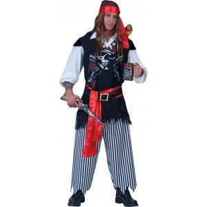 Piraat Awilda - Piraten Verkleedkleding - Kostuum Man