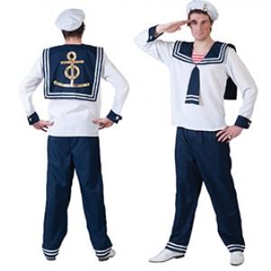 Matroos - Zeeman verkleedkleding - Kostuum man