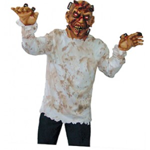 Monster met Messen door hoofd - Halloween - Eng Kostuum