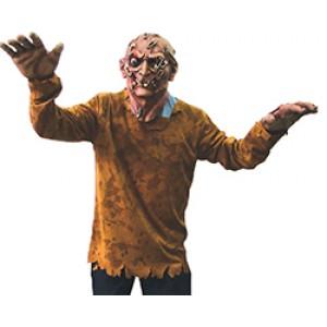 Monster met veiligheidsspelden -Halloween - Kostuum Unisex