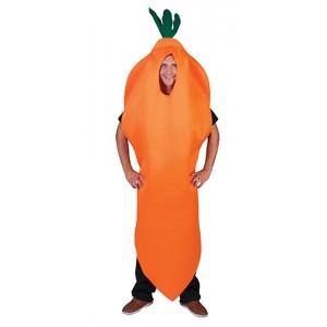Wortel  - Fruitpak - Bachelor verkleedkleding - Kostuum man