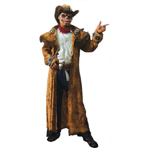 Cowboy - Monster Halloween Verkleedkleding - Kostuum Unisex