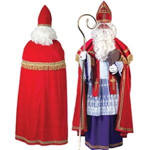 Luxe Sint pak - Sinterklaas Verkleedkleding - Kostuum Man