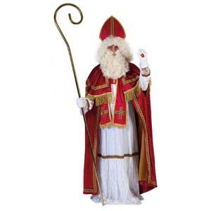 Sinterklaas Alb - Sinterklaas Verkleedkleding - Kostuum Man