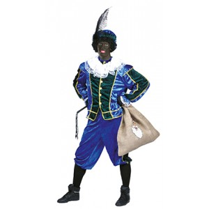 Piet Rood/Groen - Sinterklaas Verkleedkleding Kostuum Unisex