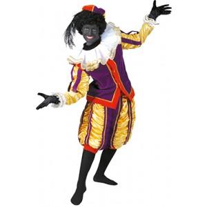 Luxe Piet Paars - Sinterklaas Verkleedkleding - Kostuum man