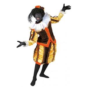 Luxe Piet Bruin - Sinterklaas Verkleedkleding - Kostuum man