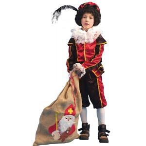 Kleine Piet Rood - Sinterklaas Verkleedkleding  Kostuum kind