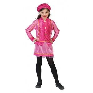 Kleine Roze Piet - Sinterklaas Verkleedkling  Kostuum Kind