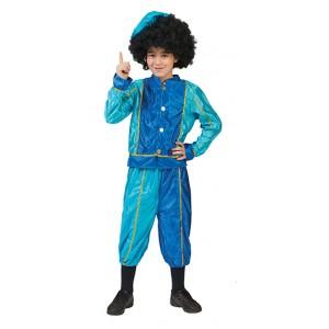Kleine Blauwe Piet - Sinterklaas Verkleedkling  Kostuum Kind
