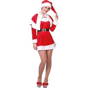 Stoute Kerstvrouw - Kerst Verkleedkleding - Kostuum Vrouw