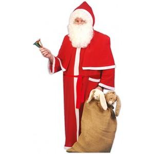 Kerstman ochtendjas - Kerst Verkleedkleding - Kostuum Man